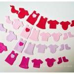 Little children clothes felt pieces..