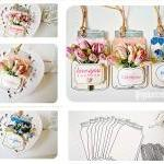 Jar tags cardstock