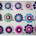 1 piece Flower felt embellishment (..