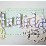 Peace. Merry. Holiday tags