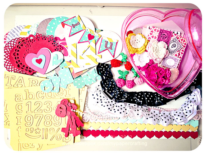 Valentine Day Kit #3: Fourteen By Crate Paper