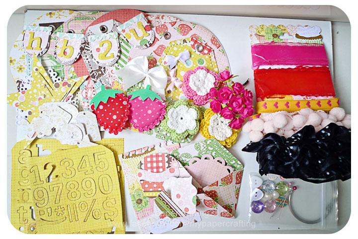 Happy Birthday Cupcake Album Kit #2
