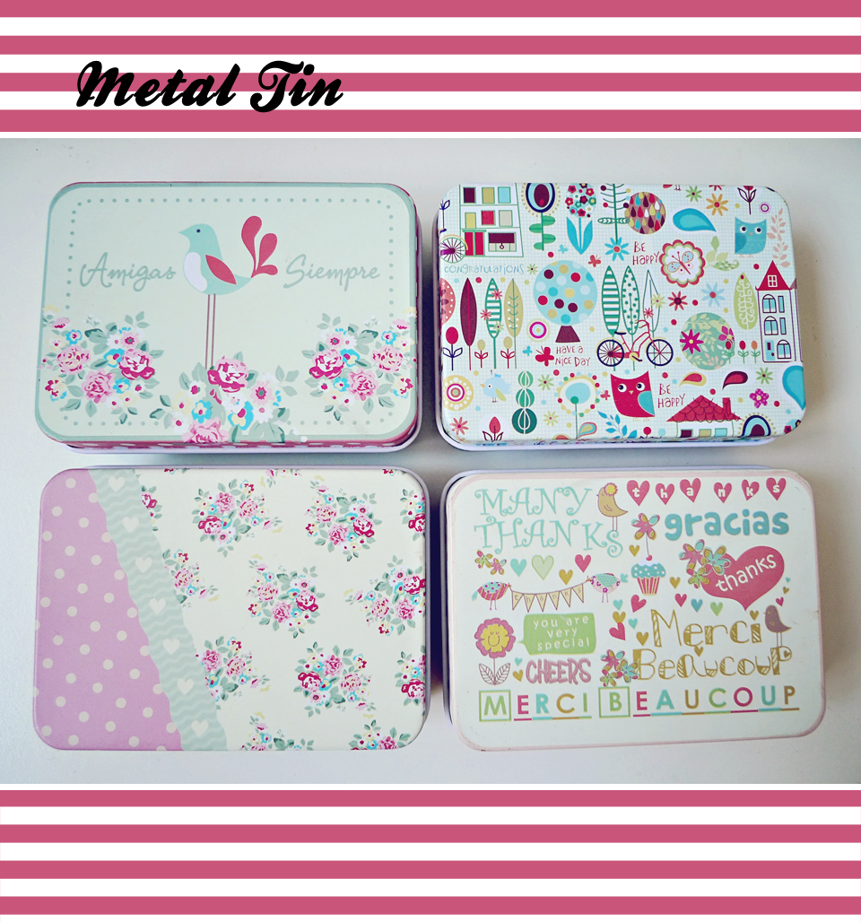 Cute Storage Box/ Tin Box/ Make Up case/ Candy Box/ Case/ Wedding Gift  sc 1 st  Luulla & Cute Storage Box/ Tin Box/ Make Up Case/ Candy Box/ Case/ Wedding ...